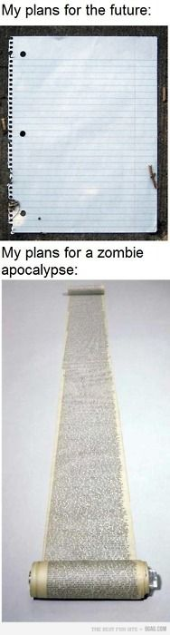 In America today, the possibility of a zombie apocalypse is higher than having a 'future.'