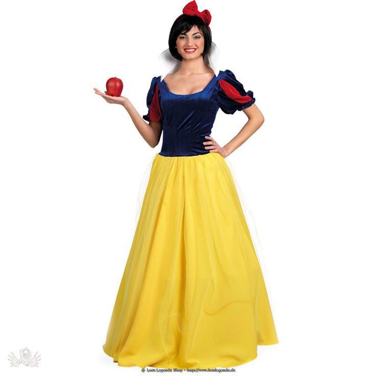 Du bist auf der suche nach einem Karnevalskostüm, das nicht zu kurz ist und trotzdem Märchenhaft aussieht? Dann ist dass das perfekte Kostüm für dich. Mit diesem hübschen und langen Schneewittchen Kleid wirst du zur Märchenprinzessin. Ganz im Disney Prinzessinnen Stil, wirst du dich in diesem Kleid an Karneval und Fasching wohl fühlen. Aber pass auf Schneewittchen, du darfst den bösen Hexen die auf dich lauern nicht trauen. Auch von dem giftigen Apfel solltest du besser nicht essen. Trink…