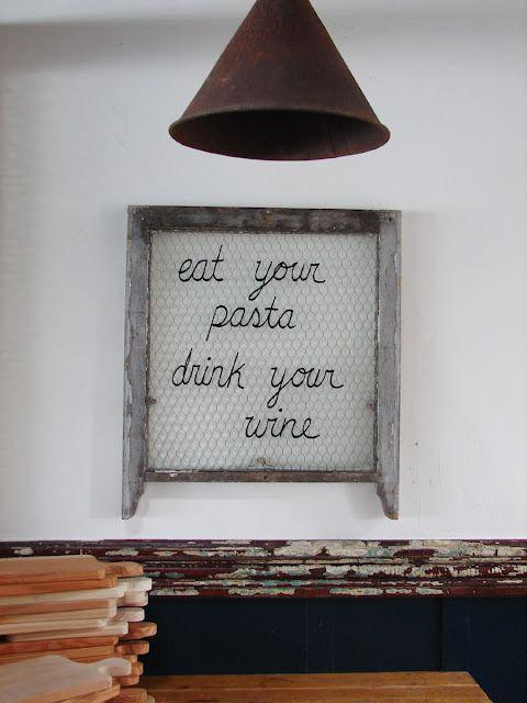 to west: restaurant.  love.