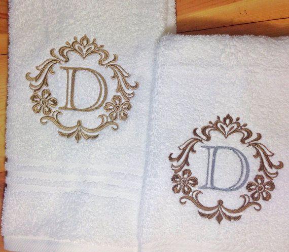 Initial Towels: 25+ Best Monogram Towels Ideas On Pinterest