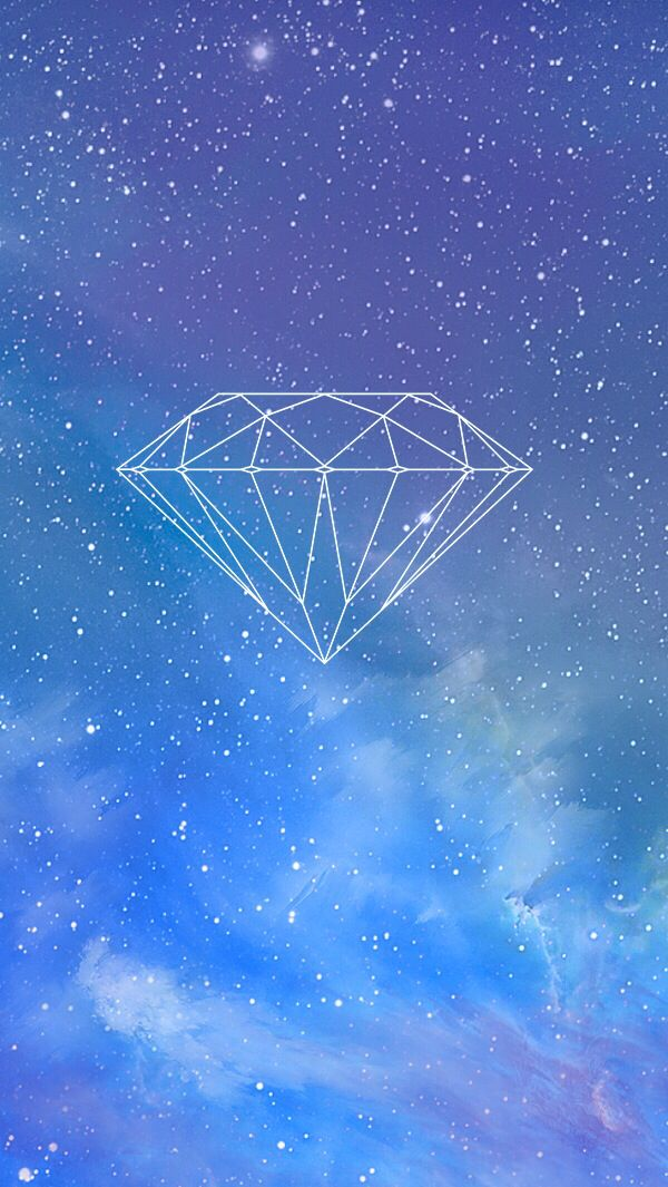 Diamond space wallpaper for iphone | Wallpaper iPhone 5 ...