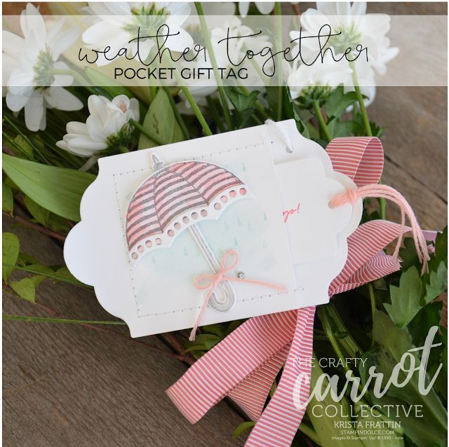 Stampin' Dolce: Weather Together - Crafty Carrot Co Blog Hop