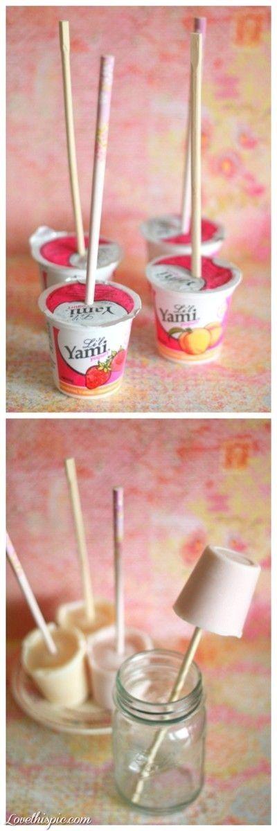 DIY yogurt pops diy easy diy diy food diy snacks diy desert