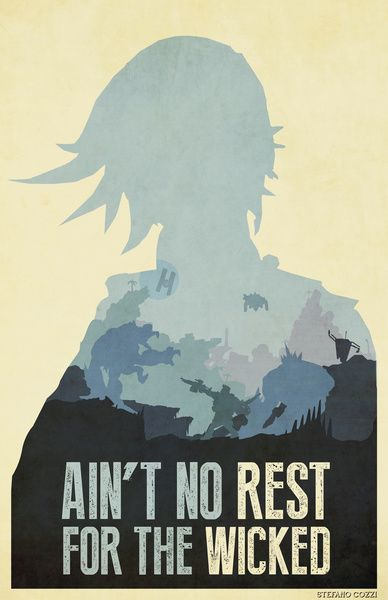 borderlands 2 - ain't no rest for the wicked art print by art of peach | society6