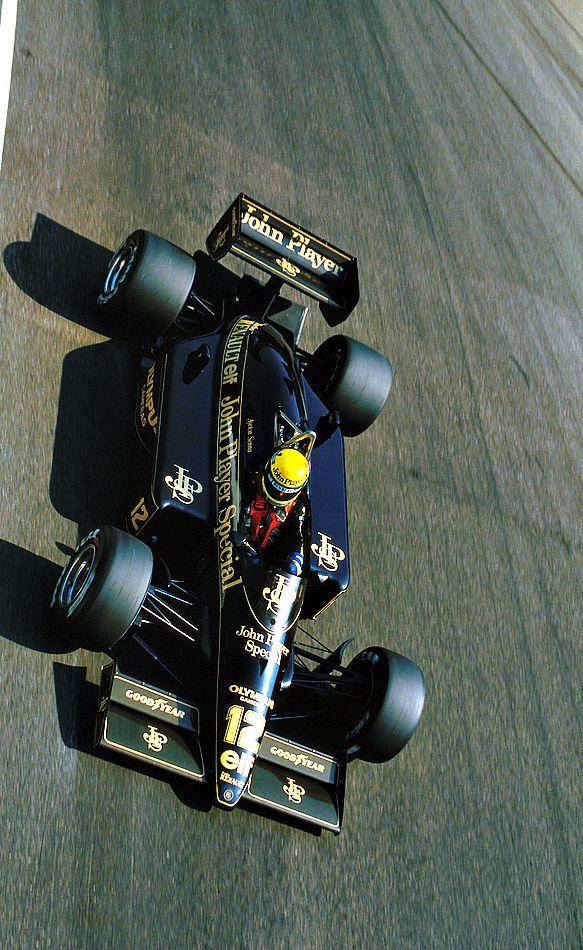 Ayrton Senna - Lotus 97T Renault EF4 - John Player Special Team Lotus - LVI Gran Premio d'Italia - 1985 FIA Formula 1 World Championship, round 12