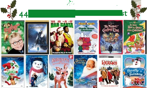 Awesome list of Christmas movies