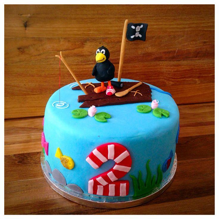 Rabe Socke Als Pirat Geburtstags Torte Rabe Socke Pirate Cake