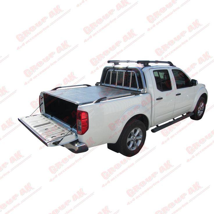 Roll-X roll up cover+side rails+roll-bar Nissan Navara D40
