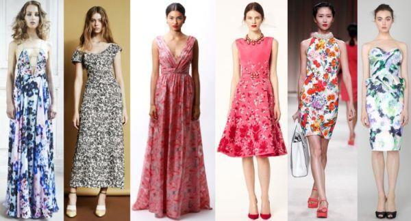 Летнее макси платье модные тенденции