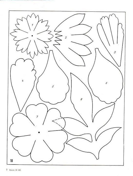 описание изготовления цветов из ткани12