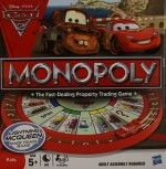 Monopoly Cars 2 Board Game - New