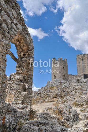 Castello di Rocca Calascio - Abruzzo - Italia