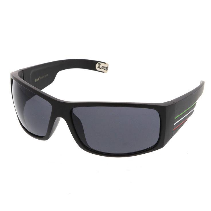 Genuine Gangsta Rapper Colored Stripes Rectangle LOCS Sunglasses 70mm  #bold #sunglass #frame #sunglasses #cateye #purple #mirrored #oversized #summer #sunglassla