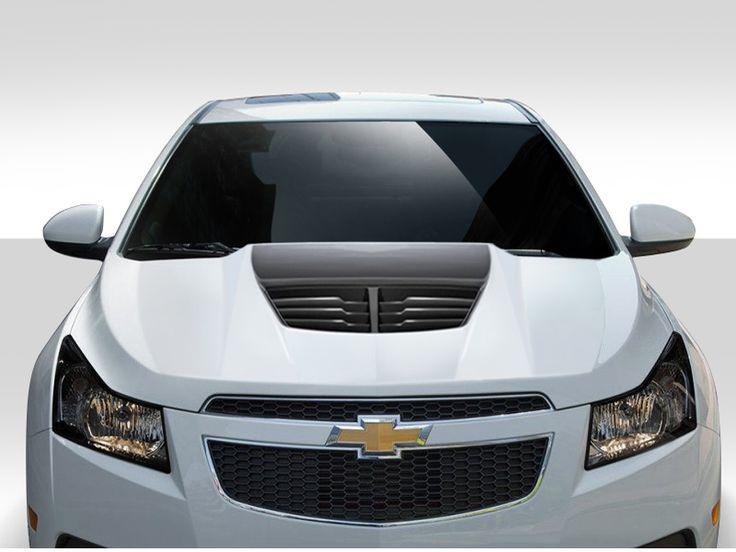 2011-2015 Chevrolet Cruze Duraflex Stingray Z Hood- 1 Piece