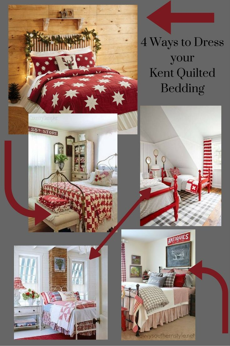 It 39 S So Easy To Spruce Up Your Bedroom With All Kent Quilted Bedding Whether You 39 Re Going For