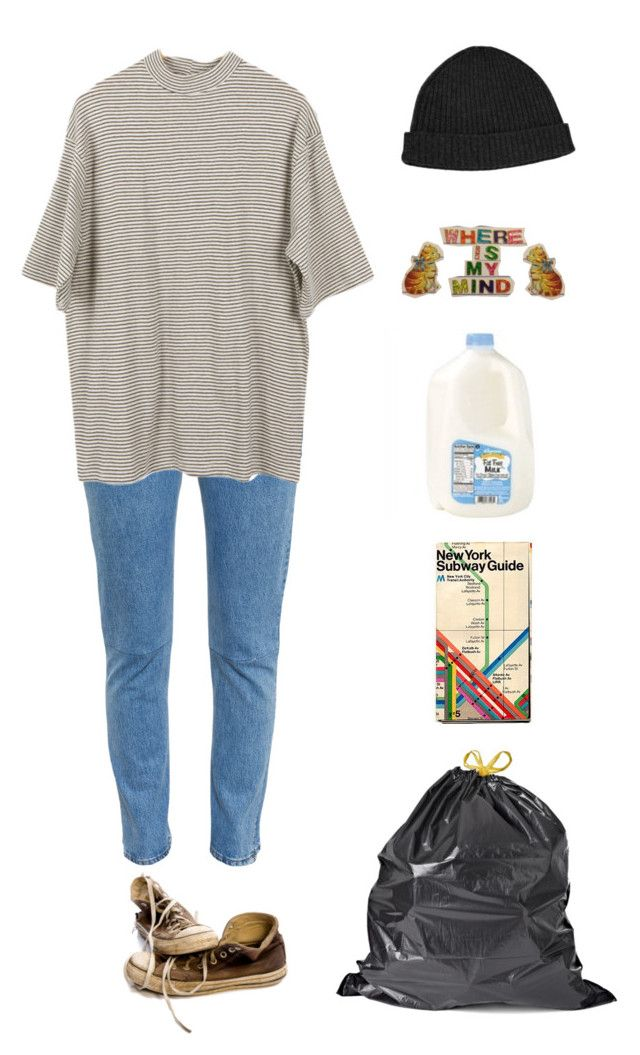 """Junk bond trader"" by origami-kitten ❤ liked on Polyvore featuring Vetements, Alexander Wang, Converse, women's clothing, women's fashion, women, female, woman, misses and juniors"