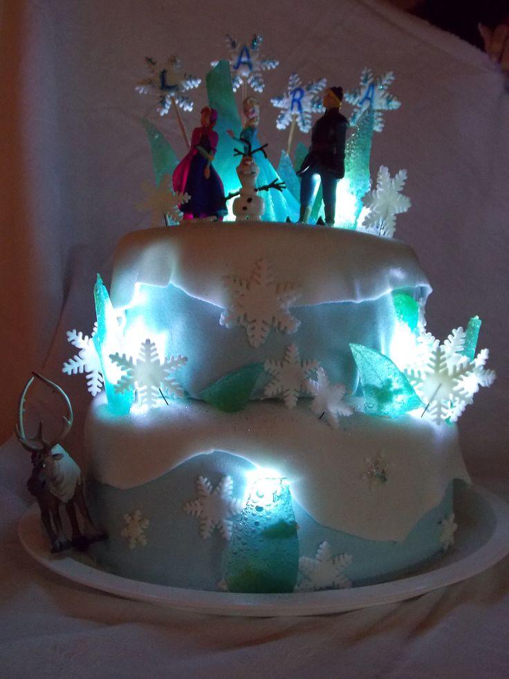 Frozen, Jégvarázs torta