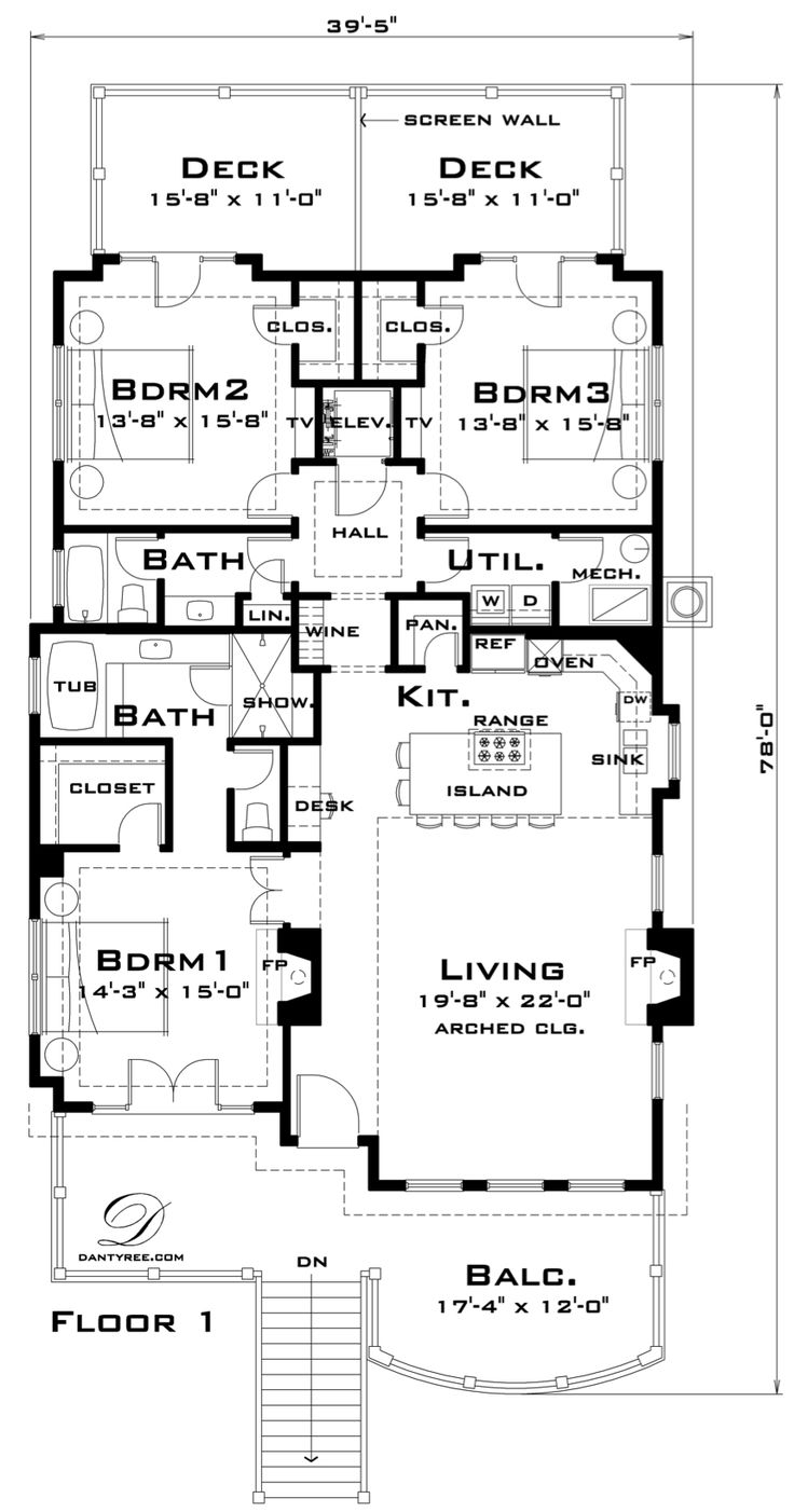 168 best house plans images on pinterest modern house plans