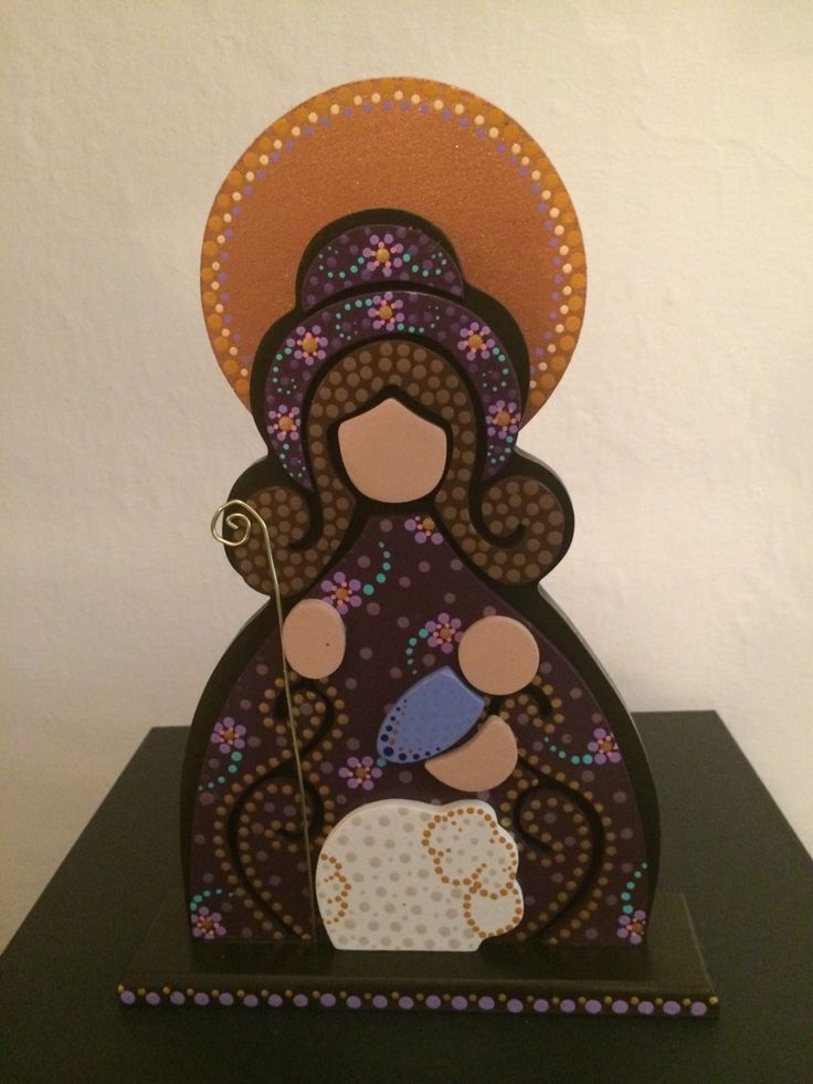 Divina Pastora  (25 cm aprox)