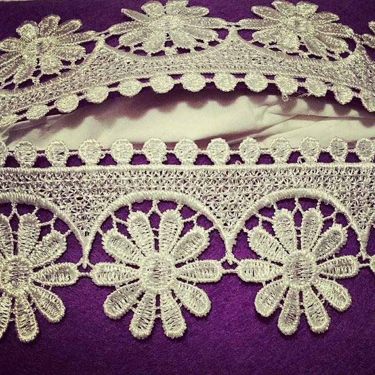 porta fazzoletti #shabby chic #purple #handmade #madewithlove
