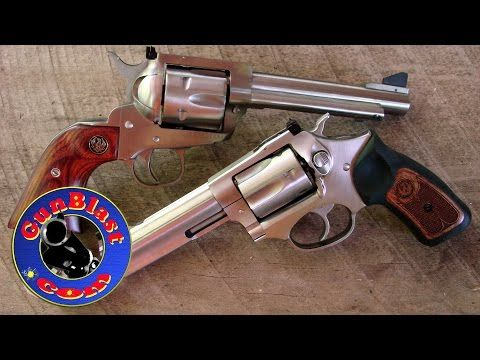 "Ruger Blackhawk ""Flattop"" 357/9mm Convertible and SP101 327 Federal Magnum - Gunblast.com - YouTube"