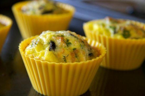Low Carb Muffins?  An Egg-xcellent idea!