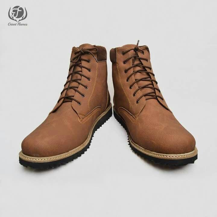 New Giant Hercules Brown Price : Rp 270.000,-   Size 39-45  Materials Lak Leather & Rubber Outsole  www.sepatutrabass.com  Pin BBM  : 5C699DC3  HP/WA     : 085752061333  #GiantFlames #cowok #guy #Bandung #indonesia #nusantara #kaskus #sepatu #sepatutrabass #jualanku #jualan #laki #vintage #man