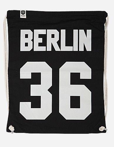 Depot2 Berlin - Berlin 36 Bag black white