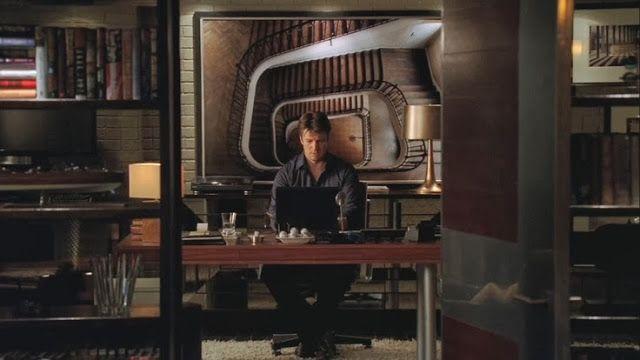 Inspiration from Castle: Richard Castle's Office