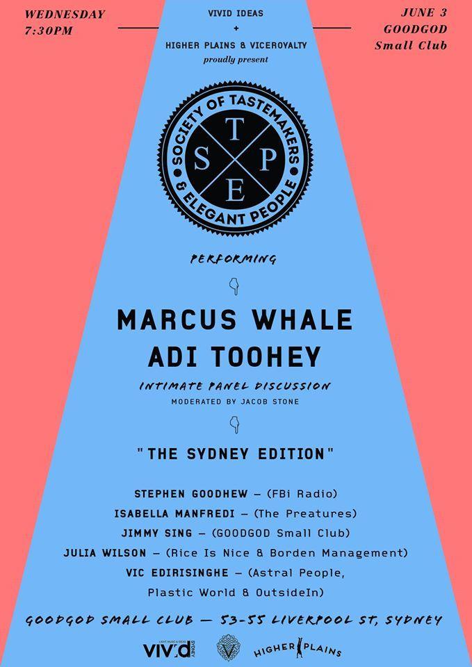 STEP -'The Sydney Edition'