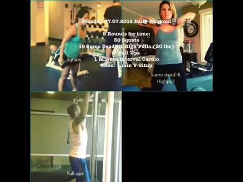 Monday 07.07.2014 Daily Workout
