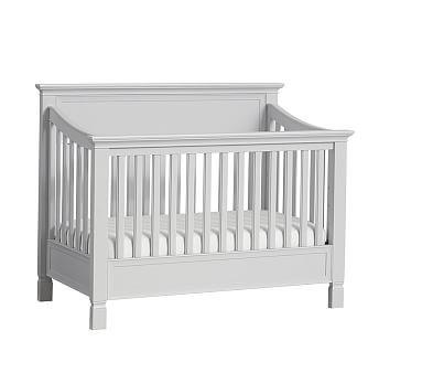 Larkin 4 in 1 convertible crib simply white
