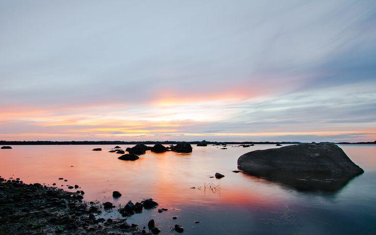 https://flic.kr/p/Kr8Qm6   Sunset over Lake Möckeln