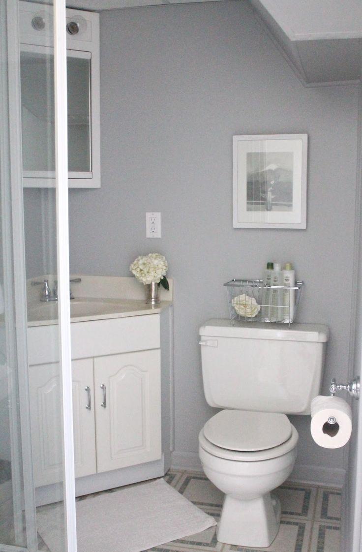 Small basement bathroom design ideas to inspire you for Small bathroom design corner sink