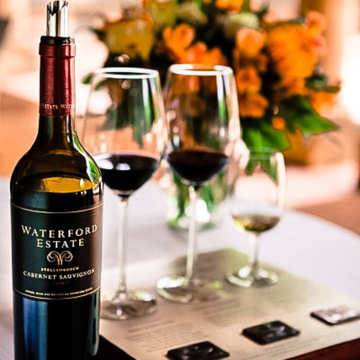 Indulge the senses with a wine & chocolate pairing at Waterford Wine Estate