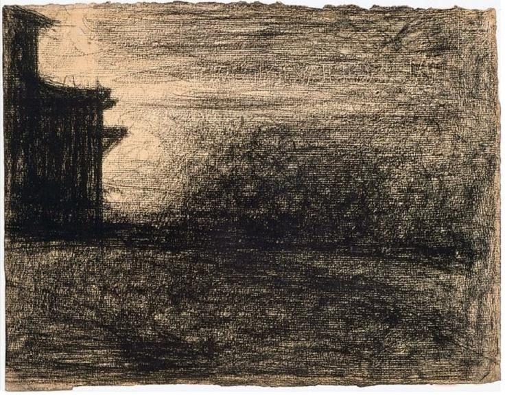 george seurat paper 1891) french painter and draughtsman, the founder and greatest exponent of  neo-impressionism seurat was the son of comfortably-off parents and his career .