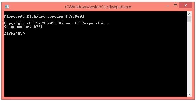 Coretan Terbaru: Cara Format Flashdisk Menggunakan Diskpart Command Prompt