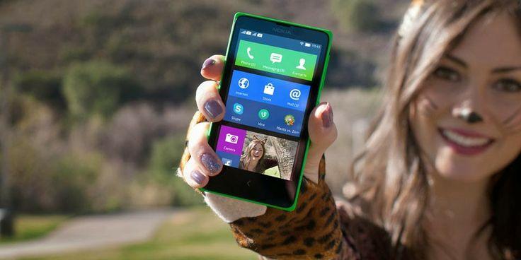 Gambar Nokia X (Normandy) Android Smartphone Pertama Nokia harga murah meriah