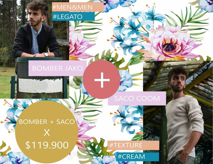 Seguimos con la temporada de combos!!! Chaqueta + saco a solo $119.900!!! Envíos gratuitos en Bogotá!!  #combos #chaquetas #jackets #saco #texture #hechoencolombia