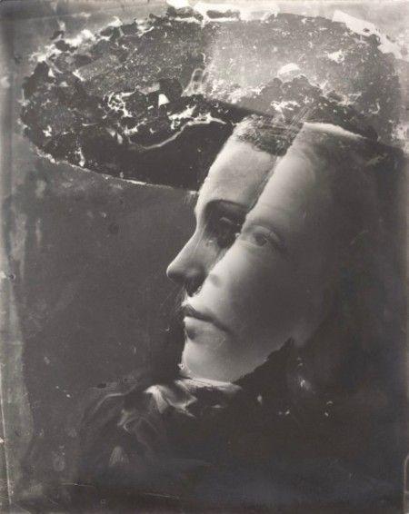 Dora Maar, Autoportrait (Double portrait avec chapeau), 1930