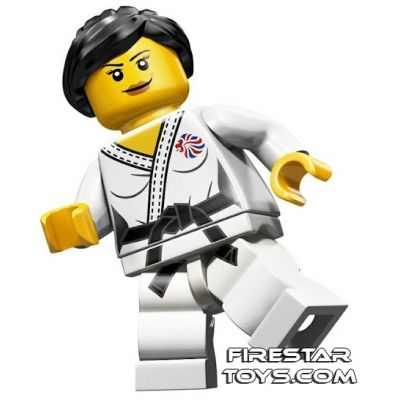 LEGO Team GB Olympic Minifigure - Judo Fighter