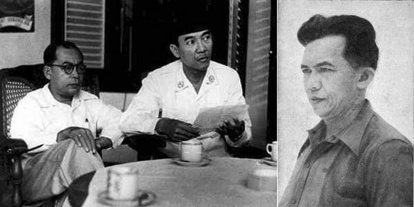 Hatta, Soekarno, Tan Malaka