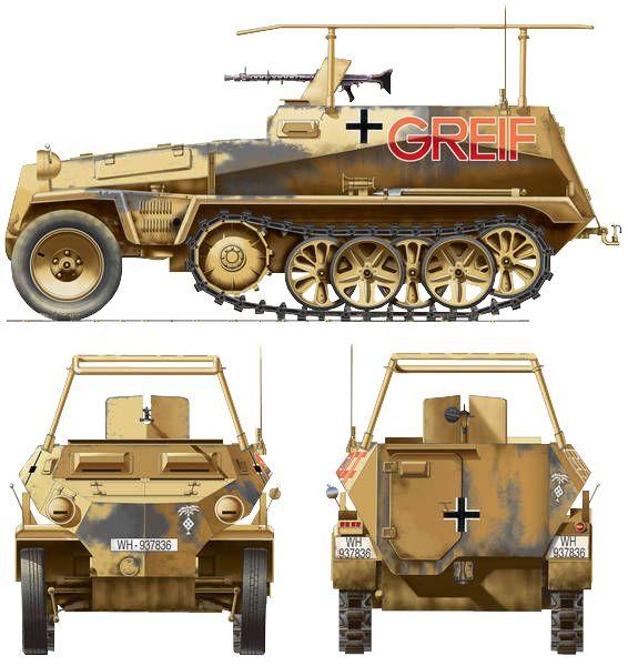 Rommel's SdKfz 250/3 Greif halftrack