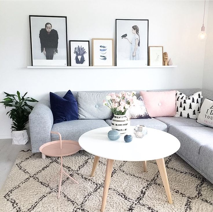 The living room of @mindetang | Immy and Indi Interior Inspo