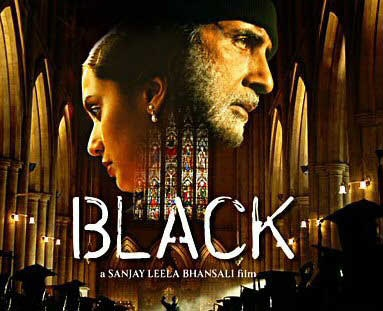 Michelle (Rani Mukherjee) is born deaf and blind. At the age of 40 she succeeds in graduating from University, with the help of her teacher, played brilliantly by Amitabh Bachchan.  Love this movie!