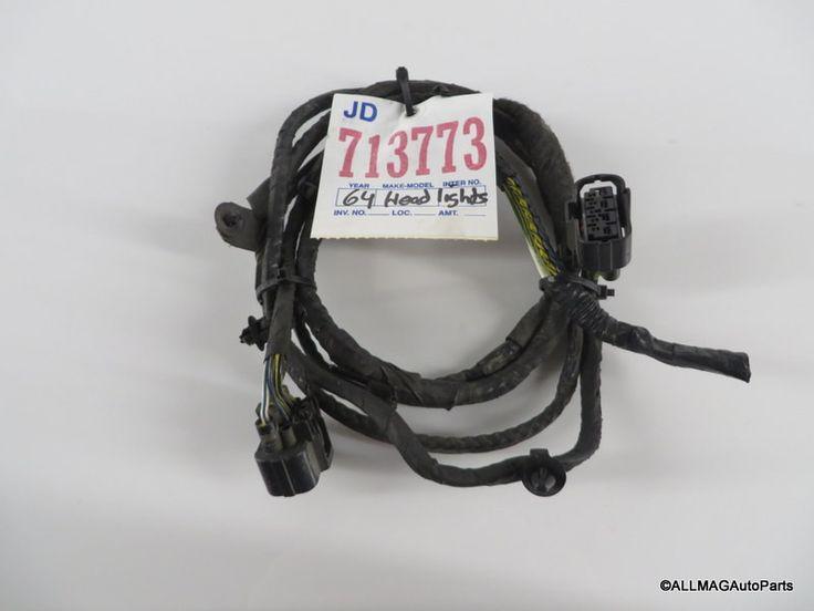 2005-2008 Mini Cooper Front XENON Headlight Wire Harness 64 R50 R52 R53