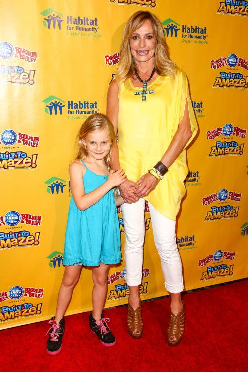 Taylor Armstrong & Her Circus Cutie