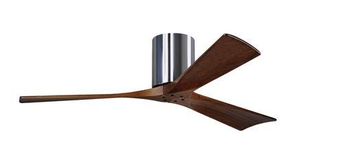 Braxley 60 Inch 3 Blade Polished Chrome Ceiling Fan - IR3H-CR-60