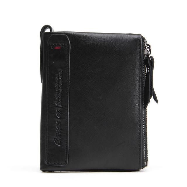 Spring New Arrival Men Wallet Cowhide Leather Wallet Card Holder Business Fashion