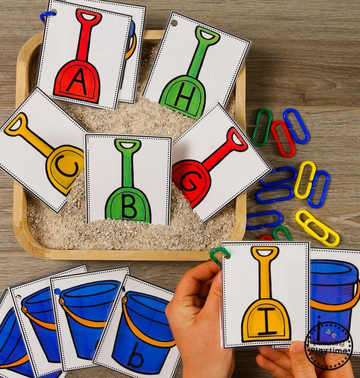 Fun Letter Matching Activity For Preschool Ocean Theme Alphabet